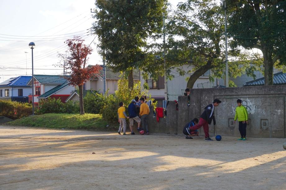 取手市戸頭しんめい公園子供サッカー