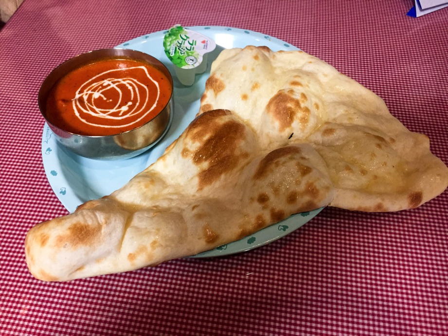 インド・ネパールレストランヒマラヤンお子様セットカレーナン