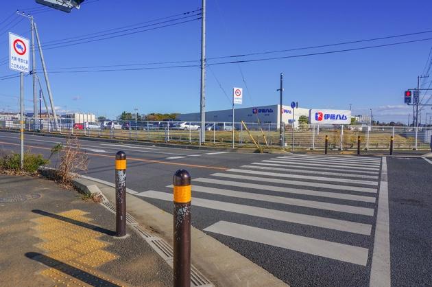 トヨタカローラ南茨城ゆめみ野店となりには伊藤ハムがあります。