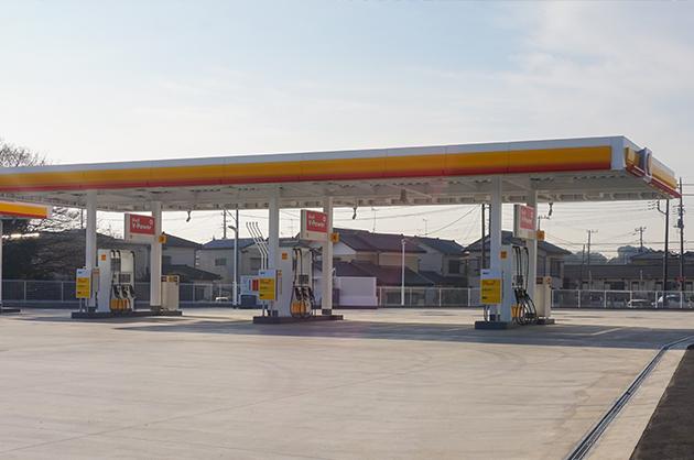昭和シェルも同時オープンローソン野々井店は2017年1月オープン