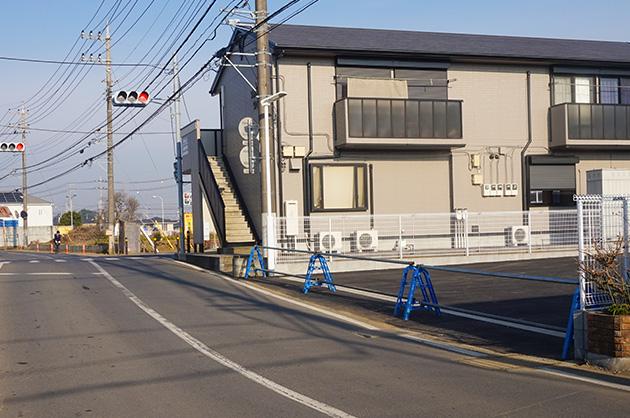 ローソン野々井店は2017年1月オープン裏からも入れます