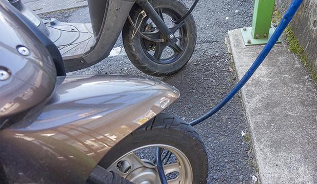 バイク可駐輪場ボックスヒル取手駅前
