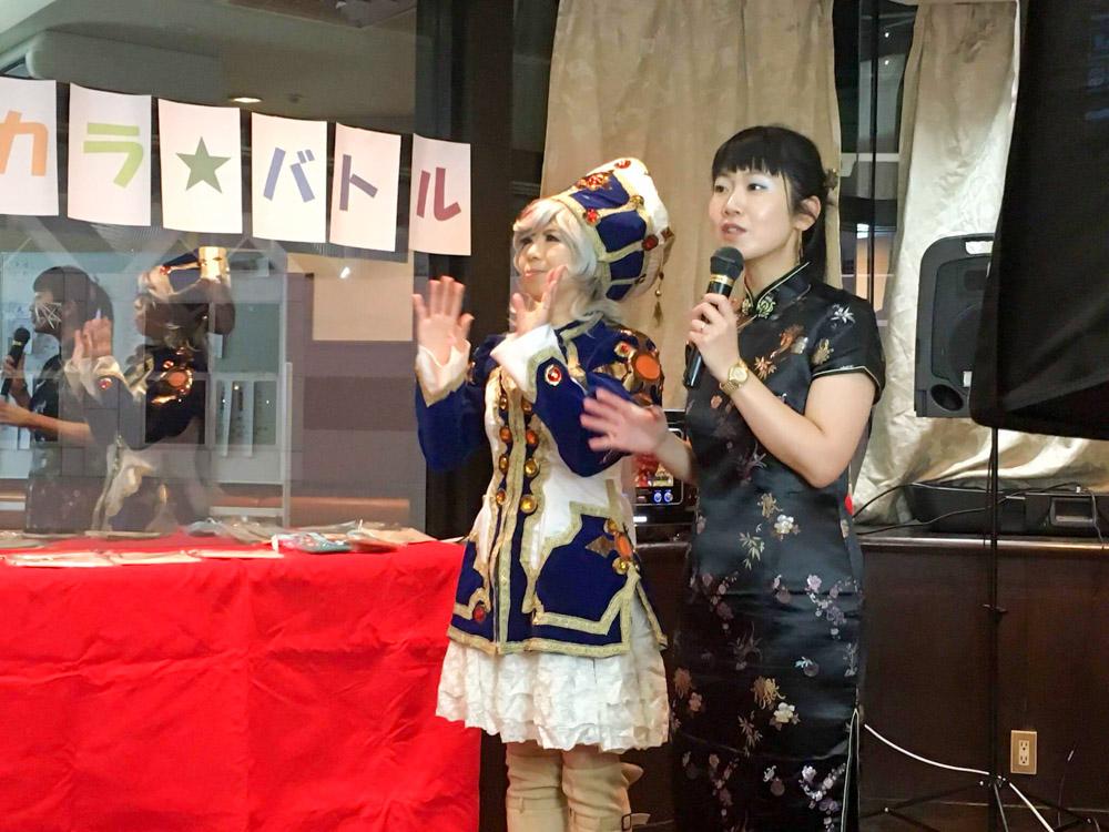 鈴木ミチさんと小村悦子さんリボンとりで5Fスタジオ505></div></div>  <p><span style=